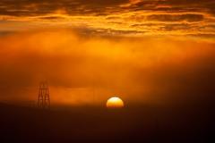 Svalbard sunset