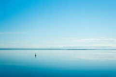Blue and calm