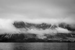In clouds